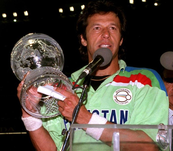 Leader of team in 1992, Prime Minister of nation in 2018