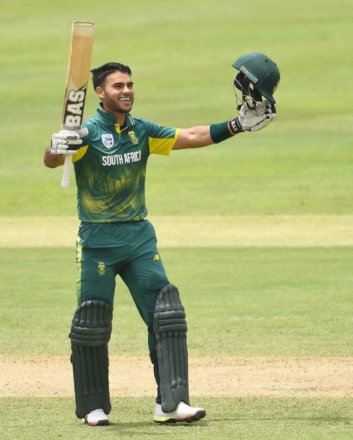 Quickes player to score a century on debut