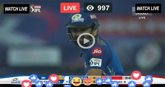 Mumbai Indians vs Rajasthan Royals 20th T20 IPL