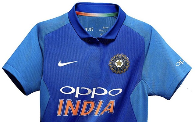 India World Cup 2019 jersey