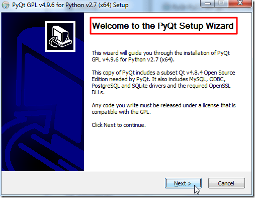 welcome to pyqt