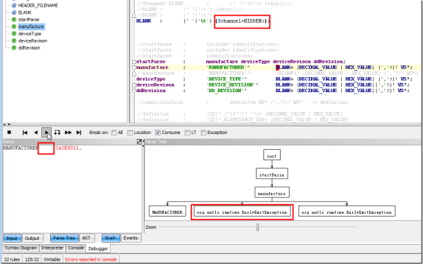 set to channel hidden result is also earlyexitexception