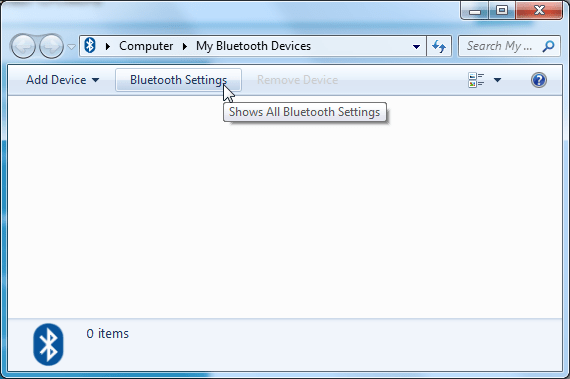 computer my bluetooth devices
