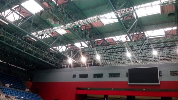 dushu lake badminton court inside up light