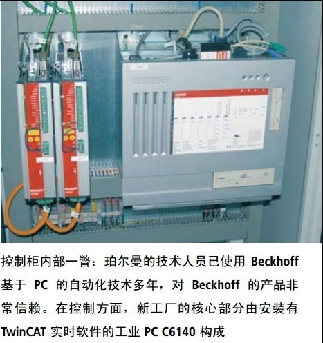 use beckhoff twincat ipc c6140 for boerman