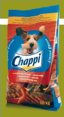 vetical normal chappi food