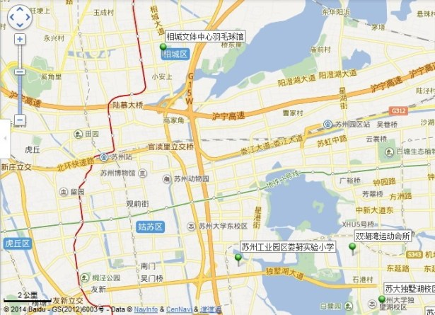 xiangcheng culture sport center location map view far
