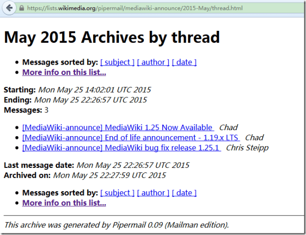may 2015 archives by thread