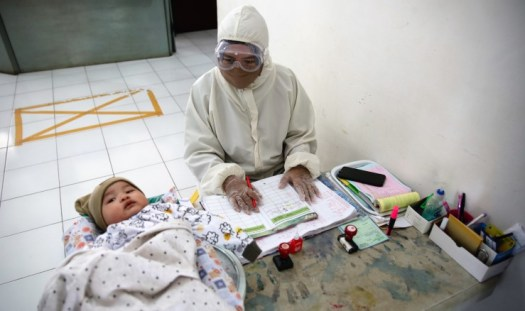 indonesia coronavirus testing COVID-19