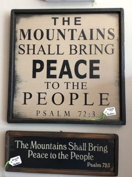 Mountains-Peace