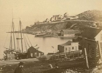 Irish Hill in San Francisco, 1862