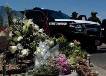 Just like the memorials after a shooting, some myths are bound to appear. AP Photo/John Locher