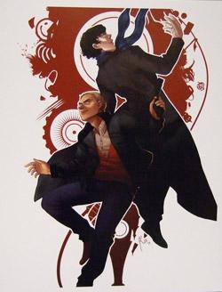An Epic Bromance: Sherlock Fan Art for the One You Love ...