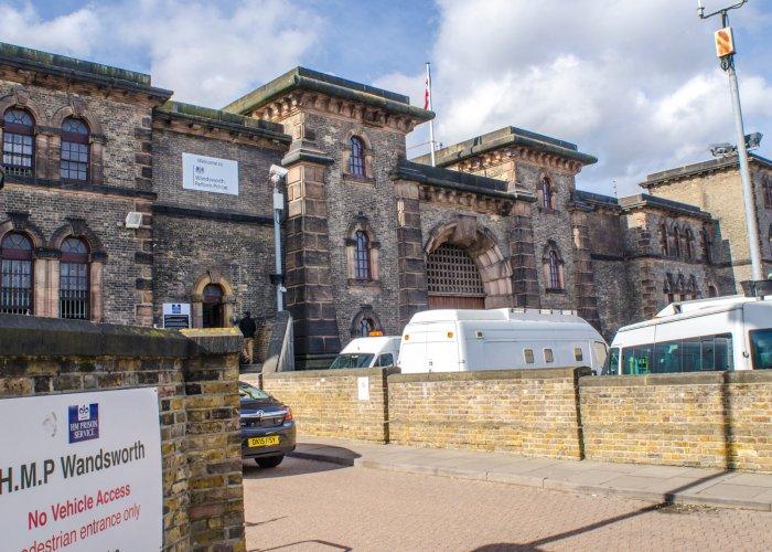 HMP Wandsworth Prison exterior