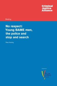 No Respect Young BAME men cover page