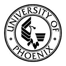 University of Phoenix round logo