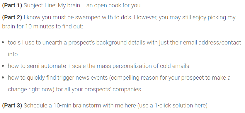 Cold Email Templates Broken Down To Help You Write Your Own