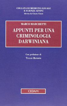 Copertina Libro: Appunti per una criminologia darwiniana