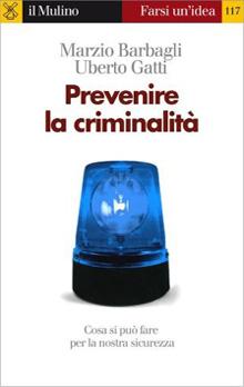 Copertina Libro: Prevenire la criminalità