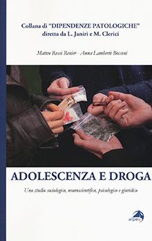 Copertina Libro: Adolescenza e Droga