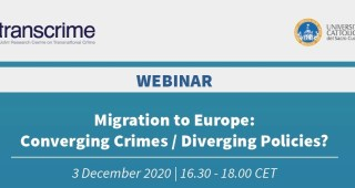 Migration to Europe: Converging Crimes / Diverging Policies?