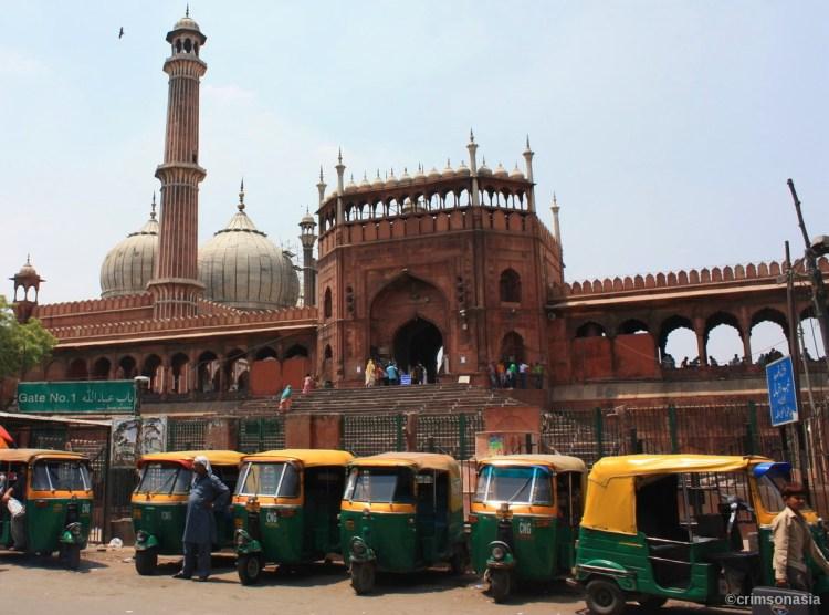 jama masjid old delhi crimsonasia