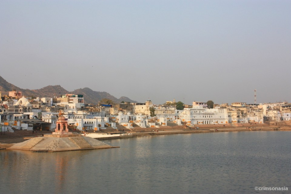 pushkar lake pushkar rajasthan crimsonasia
