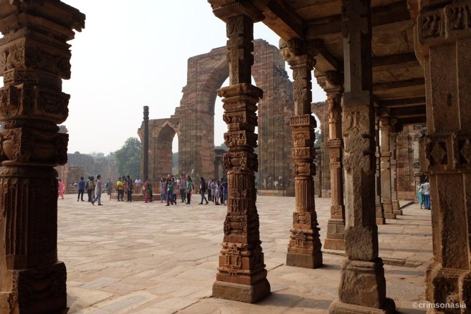 qutub minar delhi crimsonasia