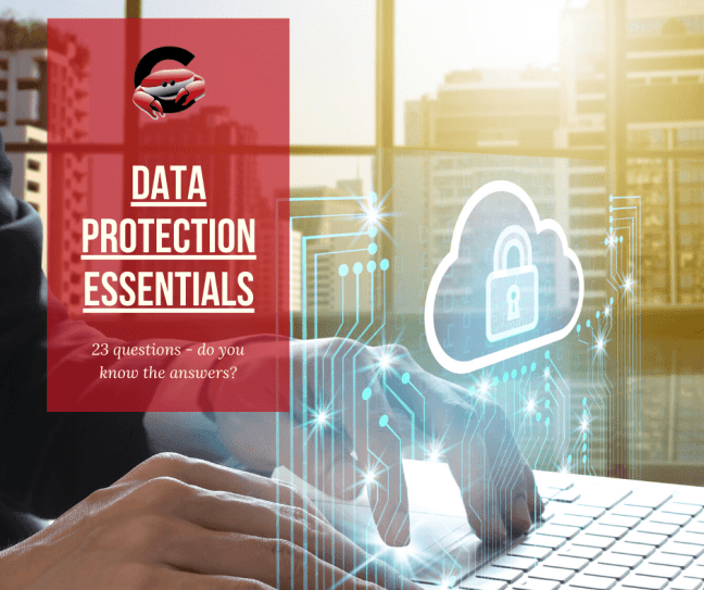 Data protection essentials, 23 questions do you know all the answers?
