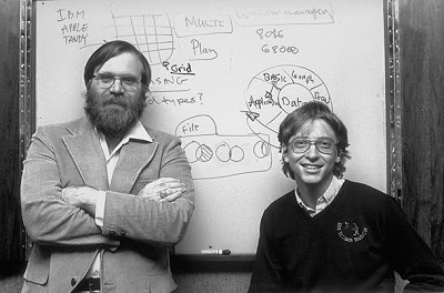 Image result for bill gates and first set of employees 1978