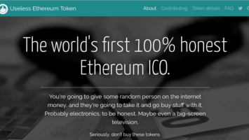 Useless Ethereum Token