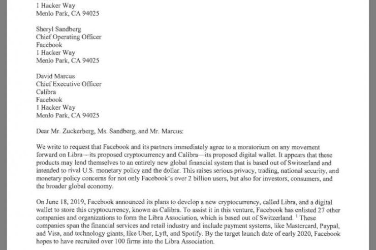 Libra lettera del congresso