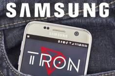 Tron Samsung Partnership
