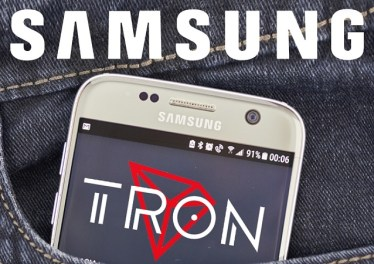 Tron Samsung Partnership