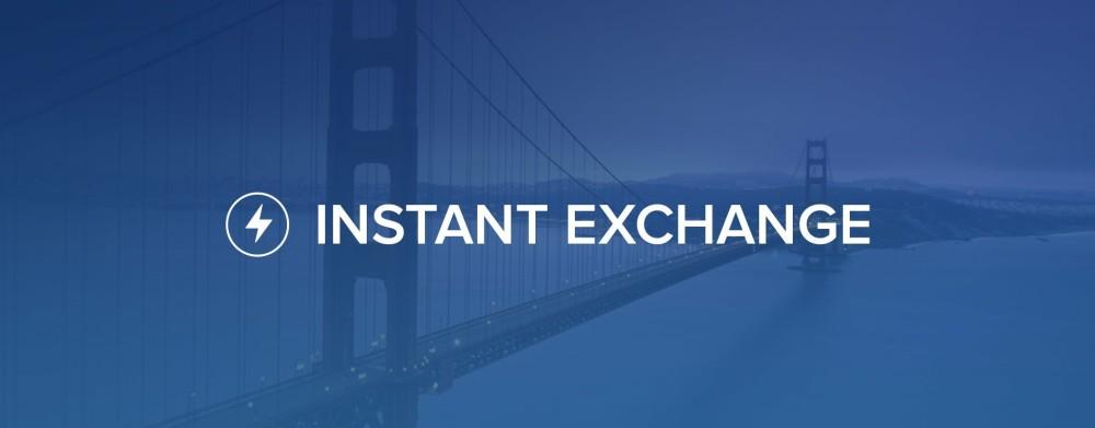 """Coinbase lanza su nuevo servicio """"Instant Exchange"""""""