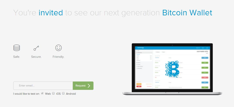 Blockchain ofrece alfa de su nueva cartera bitcoin