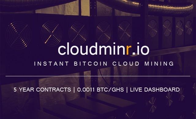 Base de datos de Cloudminr en venta por 1 BTC