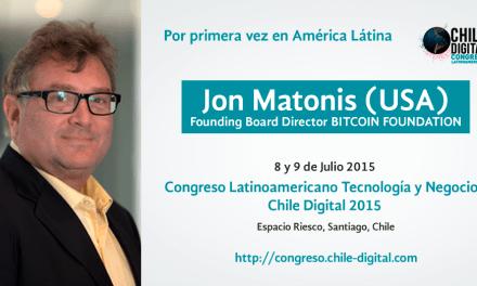 Jon Matonis abrió congreso de tecnología en Chile