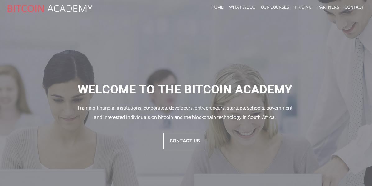 La primera Academia Bitcoin de Sudáfrica abre sus puertas
