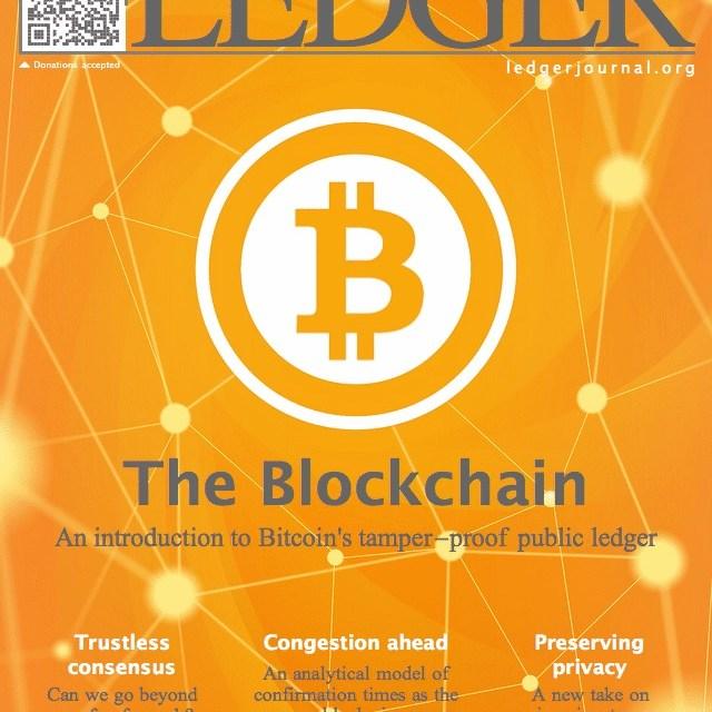 Ledger, el primer diario académico de Bitcoin