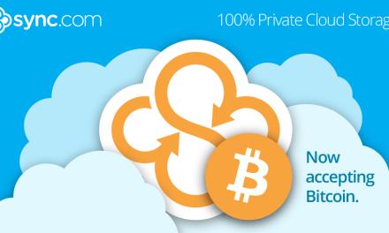 Sync.com acepta pagos Bitcoin para almacenar y compartir archivos en la nube