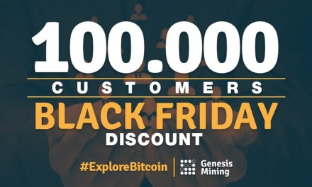 Genesis Mining alcanza 100.000 clientes y anuncia descuentos para éste Black Friday