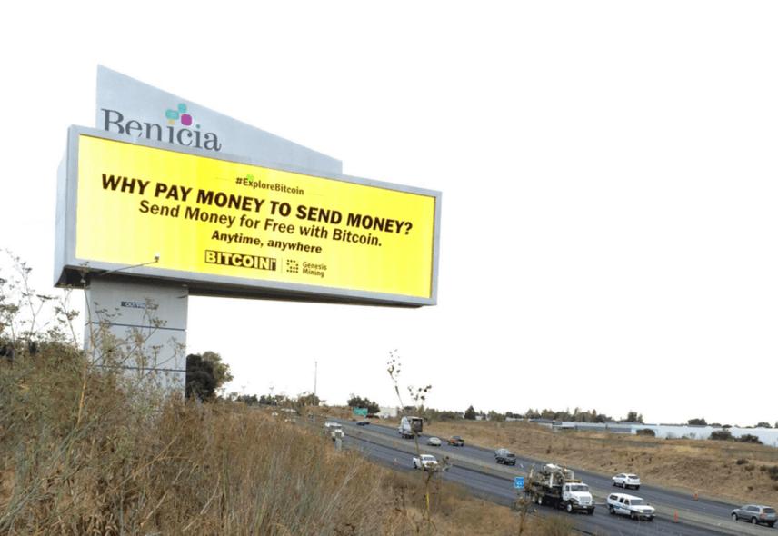 Genesis Mining lanza campaña publicitaria abogando por el Bitcoin