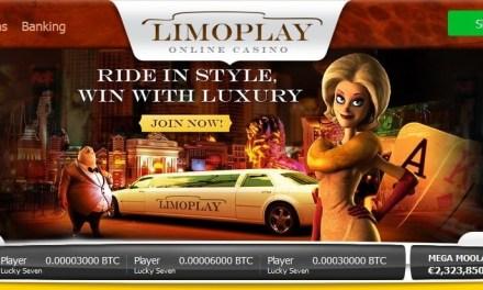 LimoPlay Casino trae la experiencia de lujo para los juegos con bitcoin