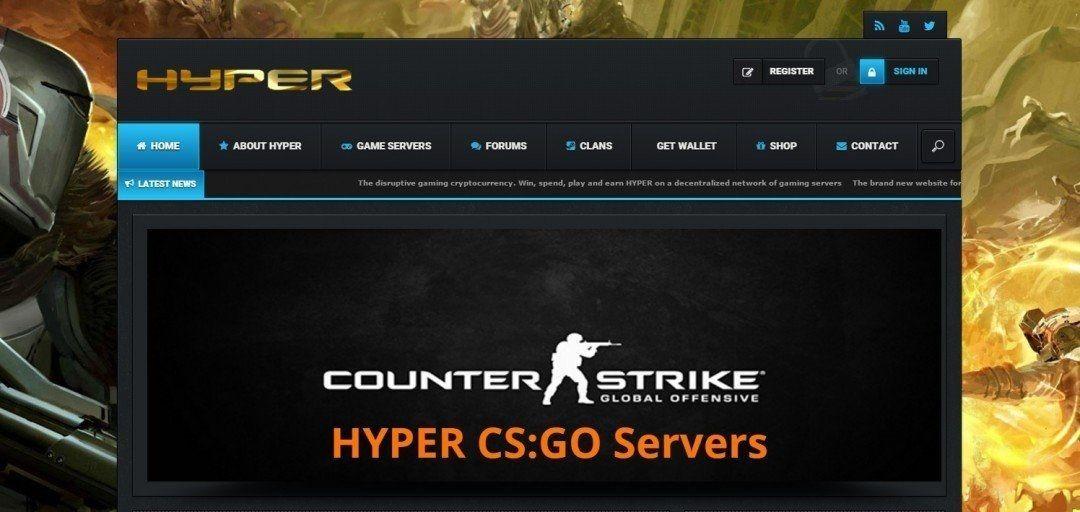 HYPER patrocina hasta 10 videojuegos en los servidores de CashNCarry