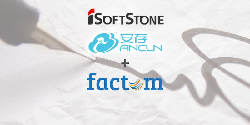 Factom firma acuerdos estratégicos para adentrarse en el mercado chino