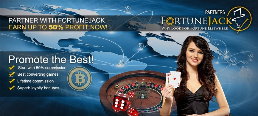 FortuneJack Casino lanza lucrativo programa de afiliados con Bitcoin