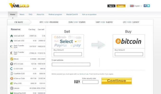 XMLGold hace el comercio de Bitcoin más conveniente con múltiples formas de pago