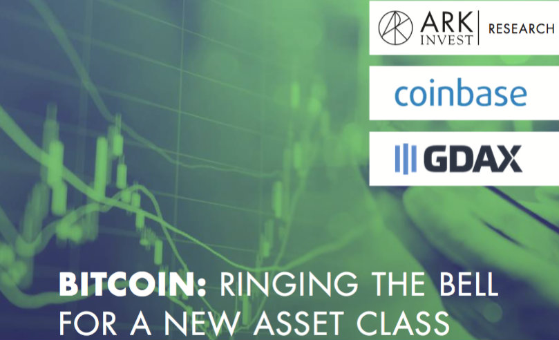 Estudio de Coinbase y ARK Invest revela que Bitcoin es un activo único en su tipo