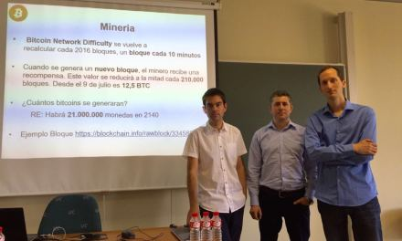 Airbitz regala carteras Bitcoin de papel en la Universidad de Cantabria